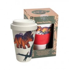 Dinosaur Bamboo Eco Travel Mug