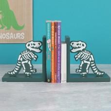 Bones Wooden Book Ends