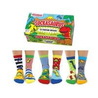 Kids Dinosaur Socks Gift Box