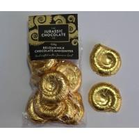 Milk Chocolate Ammonites