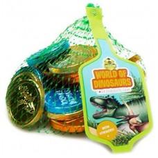 Dinosaur Chocolate Coins 30g