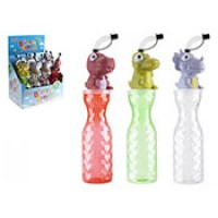 Tall Drinking Bottle with Bendy Straw