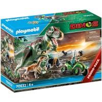 Playmobil T-rex Attack Set 70632