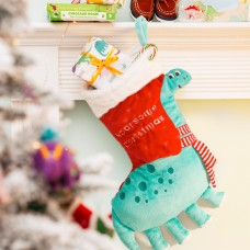 Apatosaurus Christmas Stocking