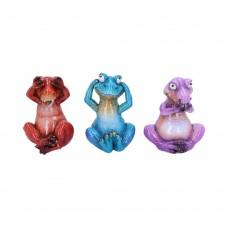 Three Wise T-rex Ornaments