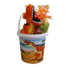 Dinosaur Easter Gift Bucket