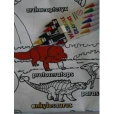 Colour-a-Dinosaur Playmat