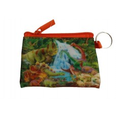 Dinosaur 3D Zip Purse