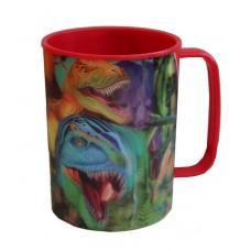 Dinosaur Smiles 3D Plastic Mug