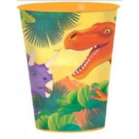 Orange Plastic Party Cup
