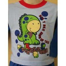 Big T-rex Toddler Pyjamas