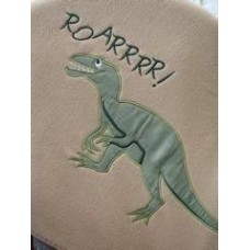 Dinosaur Fleece Blanket
