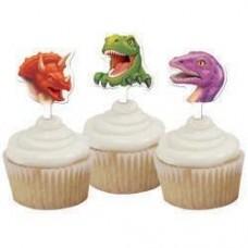 Dinosaur Cupcake Decorations