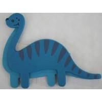 Decorating Plaque - Blue Apatosaurus