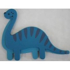 Decorating Plaque - Blue Apatosaurus