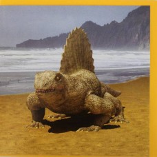 Dimetrodon Birthday Card