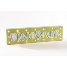 Dinosaur Wooden LED Light Block