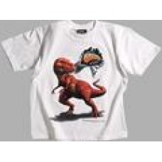 White T-rex  T-Shirt - DinoGear