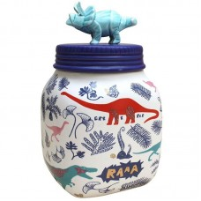 Dinosaur Porcelain Jar