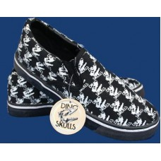 Dino Skull Slip-On Shoes - Size 5 ONLY