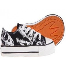 Dino Skulls Shoes - CHILD Size 10 ONLY
