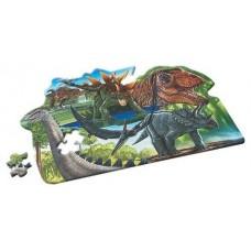 Giant Dinosaur Floor Puzzle - 100 Pieces