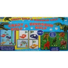 Dinosaur Crazy Golf Set - Indoor & Outdoor