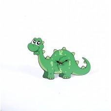 Green Dinosaur Clock