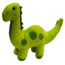 Green Diplodocus Large Cushion