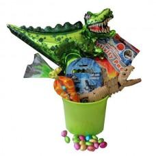 Dinosaur Toys Easter Gift Basket