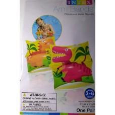 Dinosaur Inflatable Swim Armbands - Intex