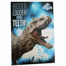 Jurassic World A4 Ring Binder