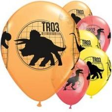 Jurassic World Balloons - Pack of 6