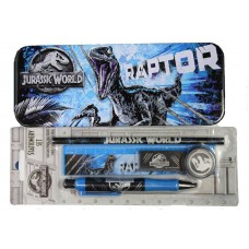 Jurassic World 2 Pencil Case and Stationery Set
