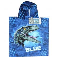 Jurassic World 2 Blue Towel Poncho