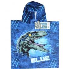 Jurassic World 2 Blue Towel Poncho