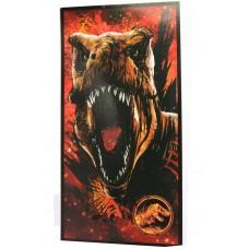 Jurassic World Red T-rex Beach/Bath Towel