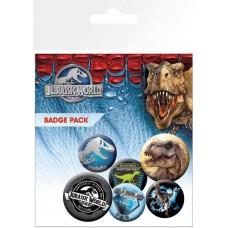 Jurassic World Badges Pack