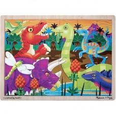 Prehistoric Sunset 24 Piece Puzzle