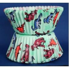 Dinosaur Muffin Baking Cases