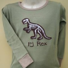 Glow-in-the-Dark PJ Rex Pyjamas Age 2/3