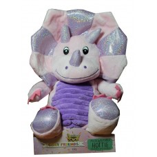 Pink Triceratops Microwaveable Cuddle Hottie