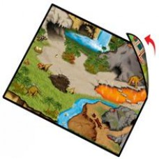Dinosaur/Farm Double Sided Playmat