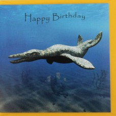 Pliosaurus Birthday Card