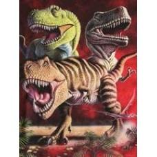 RED T-rex T-Shirt