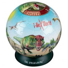 Dinosaur Puzzle Ball - 60 Curved Pieces