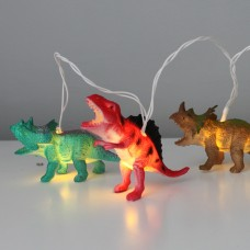 BRIGHT Dinosaur Battery Lighting String