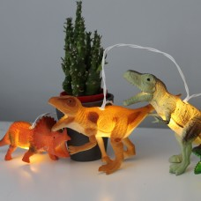 Realistic Dinosaur Battery Lighting String