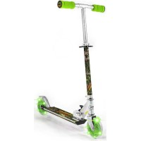 Dinosaur Scooter with Light-Up Wheels