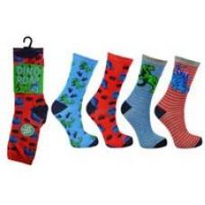 Dinosaur Socks - 3 Pairs